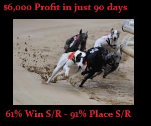 Greyhound Racing Wins $6,000 in just 90 days